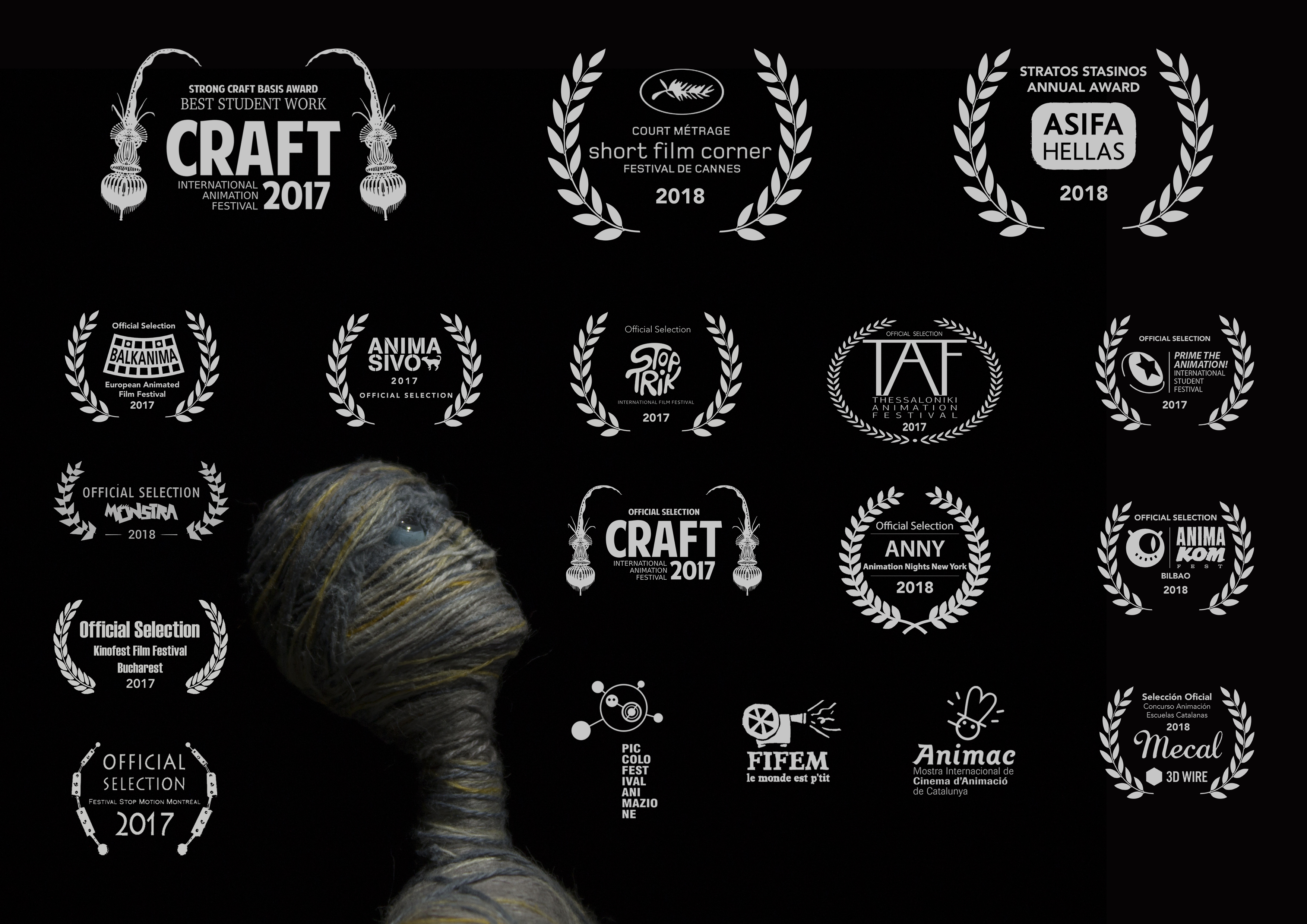 """From The Same Thread"", produced during StopMotion Master BAU, is going to Cannes Festival 2018"
